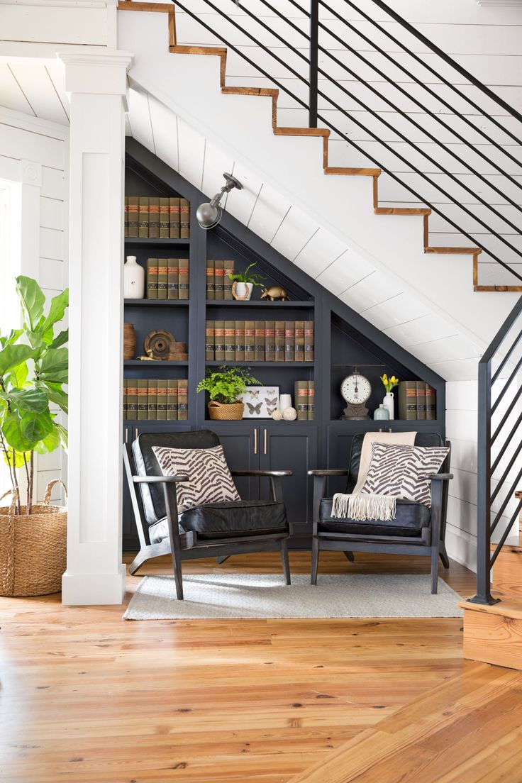 Ladder: How To Use Space Under Ladder? 7 Awesome Under The Stairs Storage  Ideas.