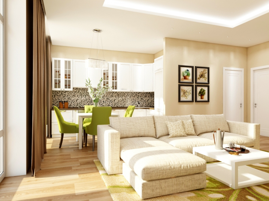 Apartments with the taste of success - our new interior design project