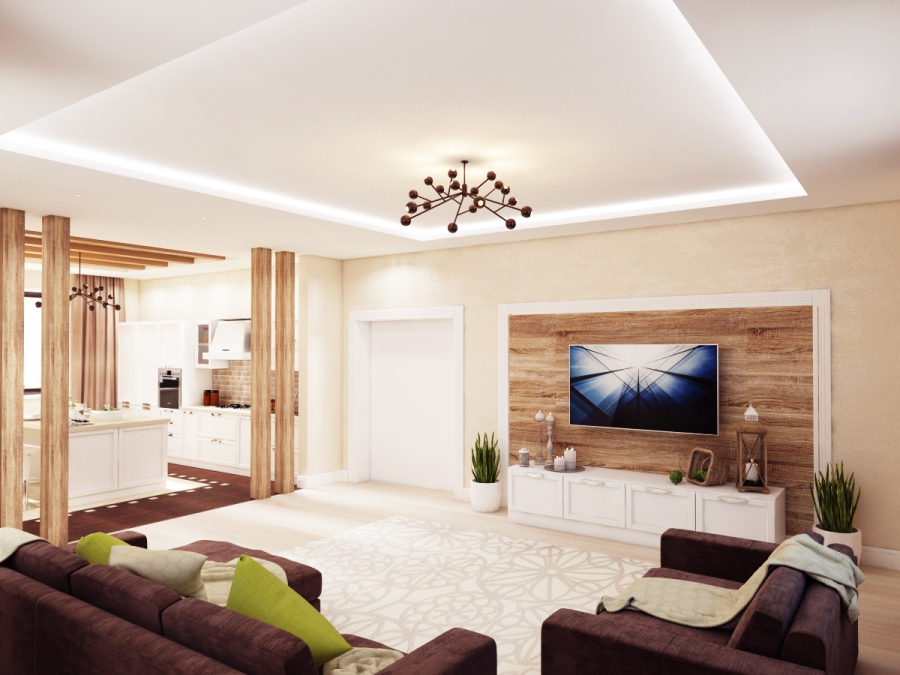 Take a look on our new living room interior design project