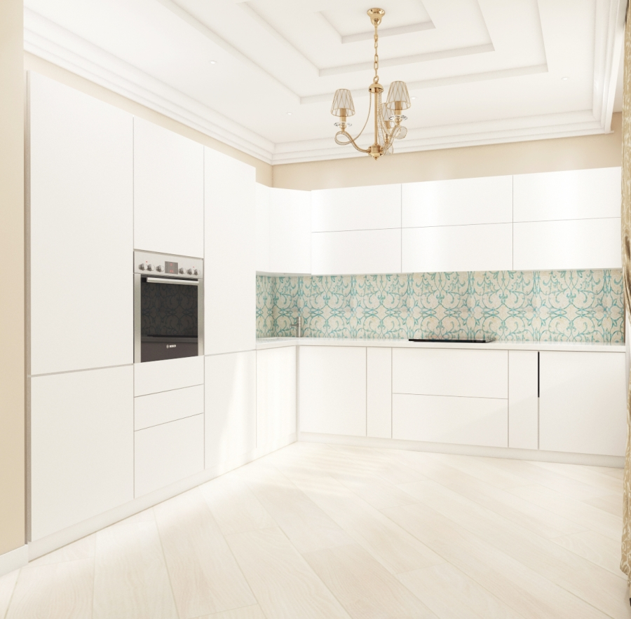 Lovely white space in our new interior design project