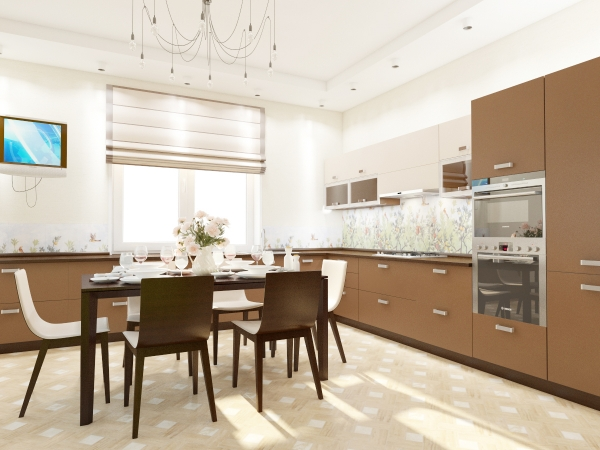 Modern Kitchen Design in the House