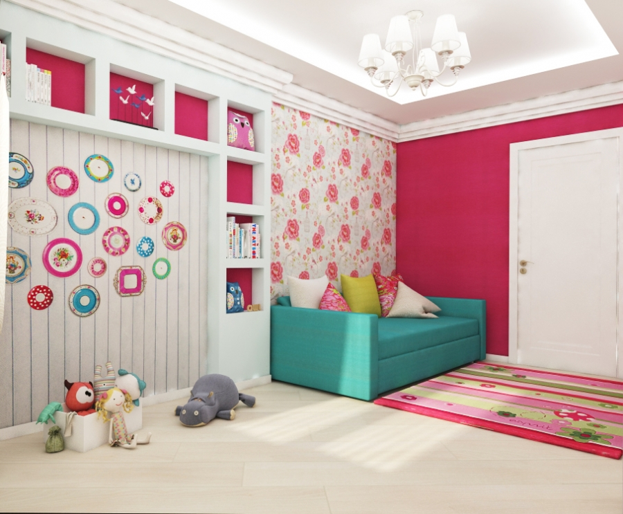 Bedroom Design for Girl