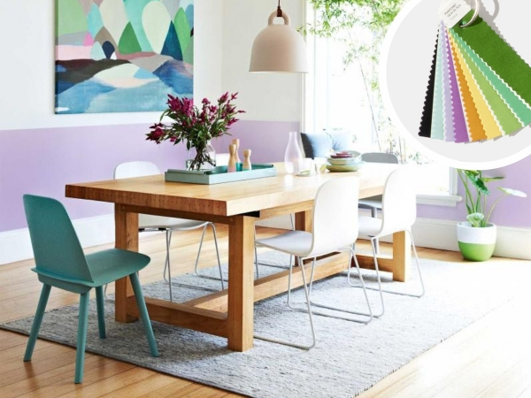 New trending. Pantone colors of the year 2018. 5 Rooms that are pretty in Verdure palette.