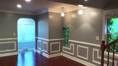 50 Shades Of Gray. Interior Painting