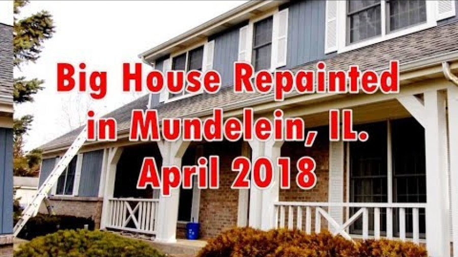 Big House Repainted in Mundelein, IL