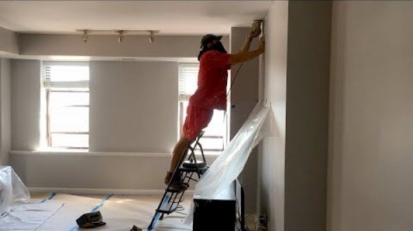 Condo: Ceiling and Walls Painting