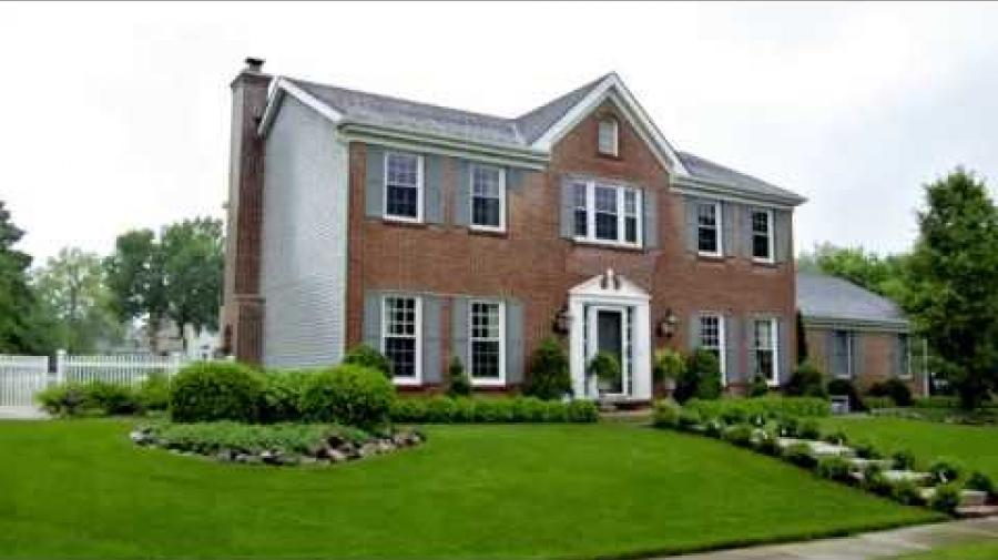 Exterior Brick Painting Project in Willowbrook, IL